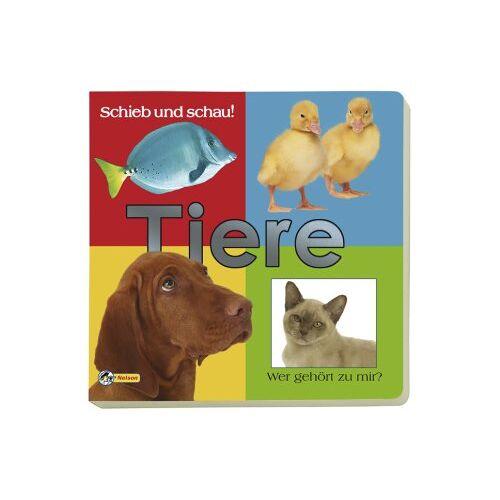- Schieb und Schau! Tiere: Pappenbuch mit Schiebeelementen. Wer gehört zu mir? - Preis vom 13.06.2021 04:45:58 h
