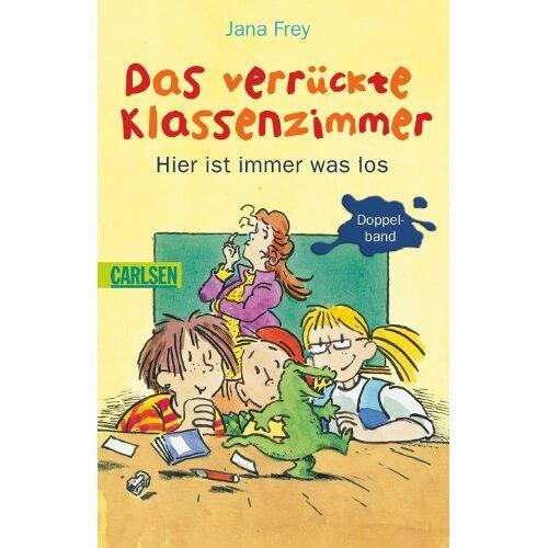 Jana Frey - Das verrückte Klassenzimmer: Das verrückte Klassenzimmer - Hier ist immer was los - Preis vom 16.06.2021 04:47:02 h