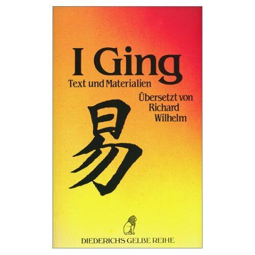 - I Ging - Text und Materialien - Preis vom 11.06.2021 04:46:58 h
