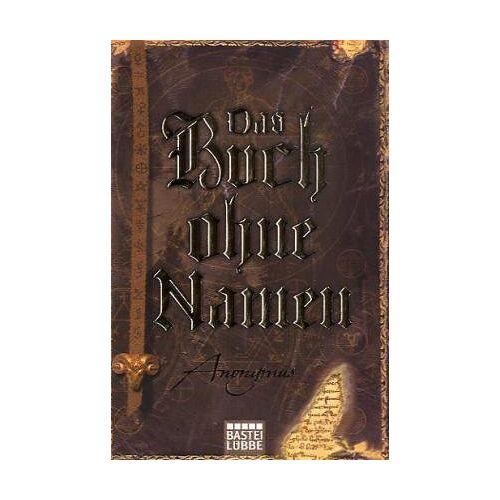 Anonymus - Das Buch ohne Namen - Preis vom 22.06.2021 04:48:15 h