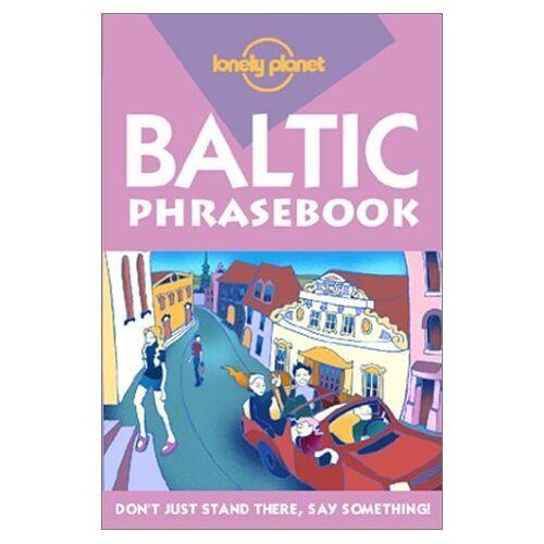 Eva Aras - Baltic Phrasebook (LONELY PLANET BALTIC STATES PHRASEBOOK) - Preis vom 22.07.2021 04:48:11 h