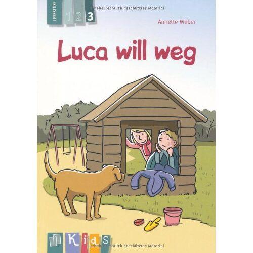 Weber Luca will weg - Lesestufe 3 - Preis vom 19.06.2021 04:48:54 h
