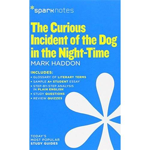 SparkNotes - The Curious Incident of the Dog in the Night-Time (Sparknotes) - Preis vom 21.06.2021 04:48:19 h