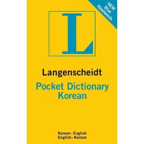 Langenscheidt Editorial Staff - Langenscheidt Pocket Dictionary Korean: Koreanisch-Englisch/Englisch-Koreanisch - Preis vom 25.07.2021 04:48:18 h