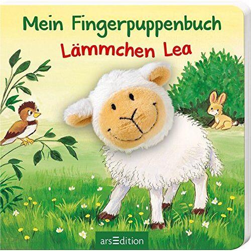 Andrea Gerlich - Mein Fingerpuppenbuch - Lämmchen Lea (Fingerpuppenbücher) - Preis vom 15.10.2021 04:56:39 h