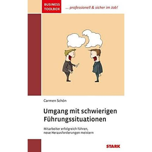 Carmen Schön - Carmen Schön: Business Toolbox Umgang mit schwierigen Führungssituationen - Preis vom 01.08.2021 04:46:09 h