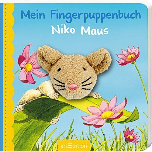 Andrea Gerlich - Mein Fingerpuppenbuch Niko Maus (Fingerpuppenbücher) - Preis vom 15.10.2021 04:56:39 h