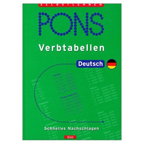 Weermann, Eva M. - PONS Verbtabellen, Deutsch - Preis vom 11.06.2021 04:46:58 h