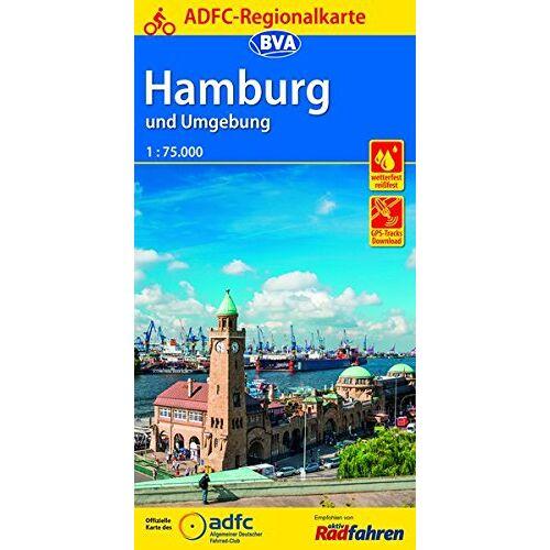 Allgemeiner Deutscher Fahrrad-Club e.V. (ADFC) - ADFC-Regionalkarte Hamburg und Umgebung 1:75.000 (ADFC-Regionalkarte 1:75000) - Preis vom 15.06.2021 04:47:52 h