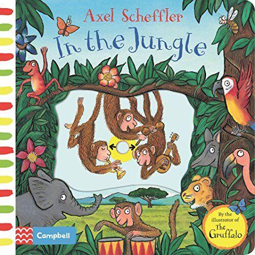 Axel Scheffler - Axel Scheffler In the Jungle: A push, pull, slide book - Preis vom 13.10.2021 04:51:42 h