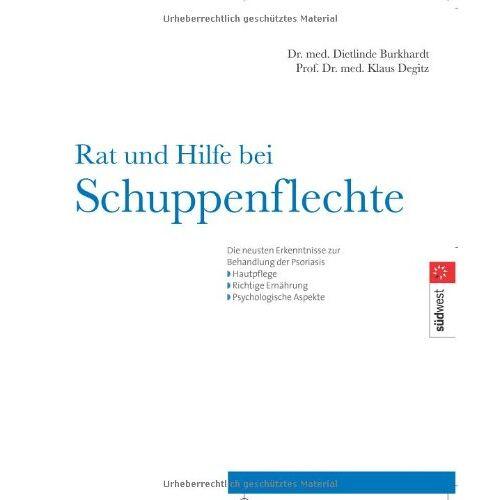 Dietlinde Burkhardt - Rat und Hilfe bei Schuppenflechte - Preis vom 02.08.2021 04:48:42 h