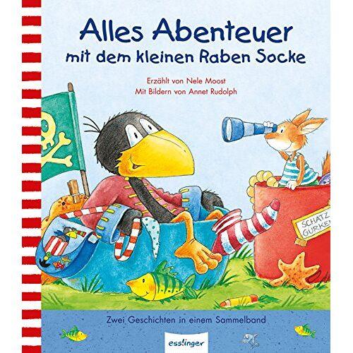 Nele Moost - Kleiner Rabe Socke: Alles Abenteuer mit dem kleinen Raben Socke - Preis vom 09.06.2021 04:47:15 h