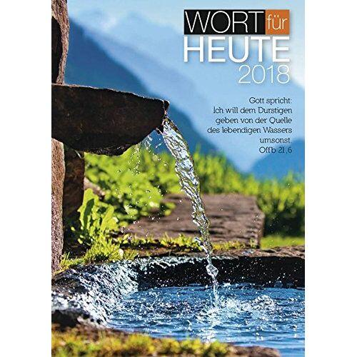 Brunnen-Verlag - Wort für heute 2018 - Preis vom 12.06.2021 04:48:00 h