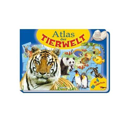 Edition Trötsch - Atlas der Tierwelt. Puzzlebuch: Lerne mit diesem Puzzlebuch alle Kontinente, Länder und Meere und deren Tierwelt kennen! - Preis vom 19.06.2021 04:48:54 h
