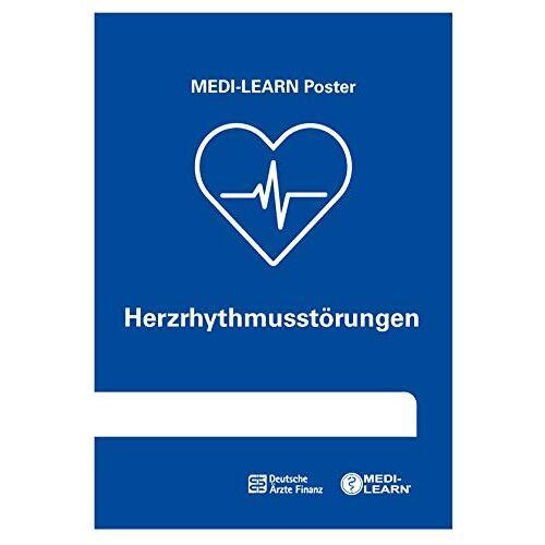 Daniel Marx - Herzrhythmusstörungen: MEDI-LEARN Poster - Preis vom 13.06.2021 04:45:58 h