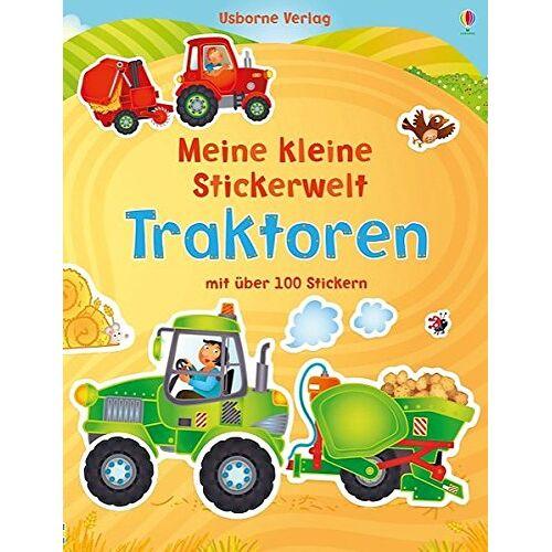 Felicity Brooks - Mein kleine Stickerwelt: Traktoren - Preis vom 19.06.2021 04:48:54 h