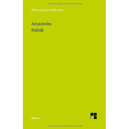Aristoteles - Politik - Preis vom 30.07.2021 04:46:10 h