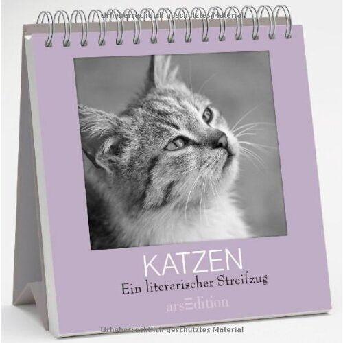 kein Autor - Katzen: Ein literarischer Streifzug (Literarische Aufsteller) - Preis vom 22.06.2021 04:48:15 h