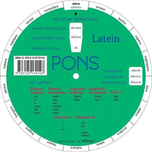 - PONS Drehscheibe Latein - Preis vom 14.10.2021 04:57:22 h
