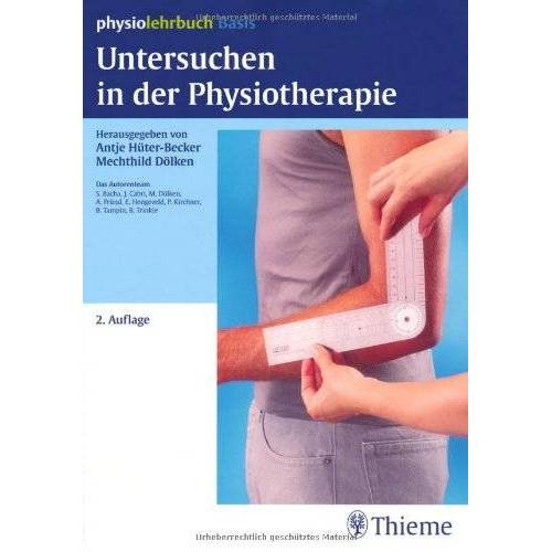 Becker Untersuchen in der Physiotherapie - Preis vom 01.08.2021 04:46:09 h