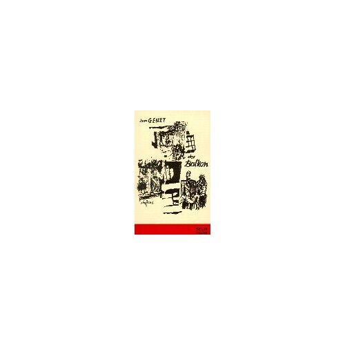 Jean Genet - Der Balkon - Preis vom 23.07.2021 04:48:01 h