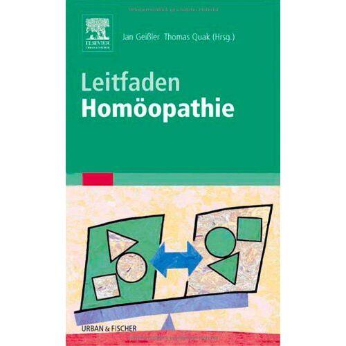 Jan Geißler - Leitfaden Homöopathie - Preis vom 27.07.2021 04:46:51 h