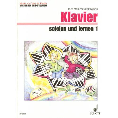 - Klavier Spielen + Lernen 1 Klavierheft 1. Klavier - Preis vom 13.06.2021 04:45:58 h