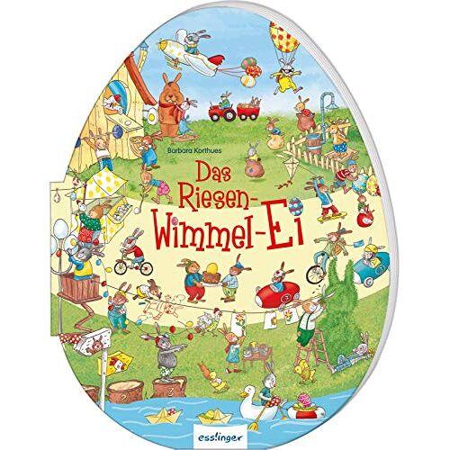 - Das Riesen-Wimmel-Ei:   Riesenbilderbuch in Ei-Form für Kinder ab 3 Jahren, besonderes Oster-Geschenk - Preis vom 22.06.2021 04:48:15 h