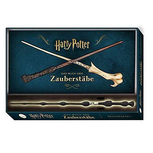 Monique Peterson - Harry Potter: Das Buch der Zauberstäbe (mit Zauberstab-Replika in Geschenkbox): Geschenkset inkl. Buch und Zauberstab - Preis vom 15.10.2021 04:56:39 h