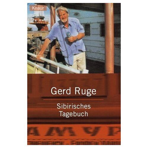Gerd Ruge - Sibirisches Tagebuch - Preis vom 11.10.2021 04:51:43 h