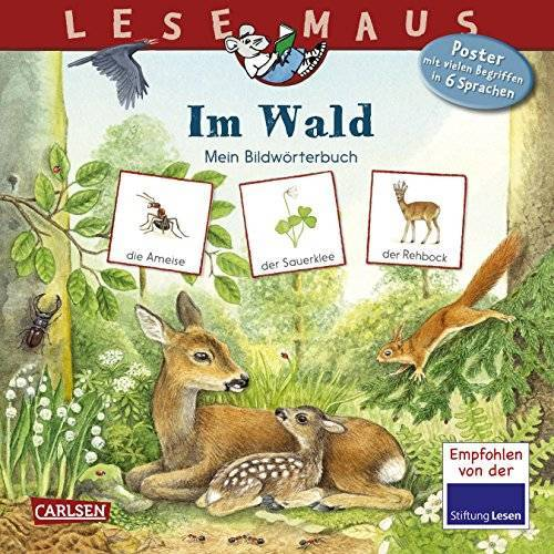 Bärbel Oftring - LESEMAUS 201: Im Wald: Mein Bildwörterbuch - Preis vom 03.08.2021 04:50:31 h