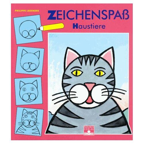 Philippe Legendre - Zeichenspaß, Bd.3, Haustiere - Preis vom 18.06.2021 04:47:54 h