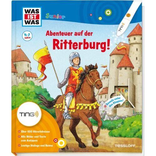 Eva Dix - Ting: Was ist was junior. Abenteuer auf der Ritterburg! - Preis vom 11.10.2021 04:51:43 h