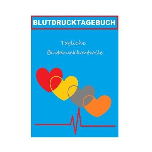 T W - Blutdrucktagebuch: Dein Blutdruckpass - Preis vom 22.10.2021 04:53:19 h