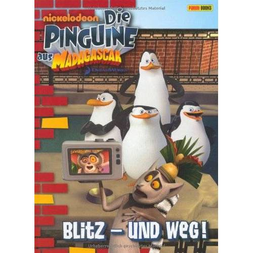 Molly Reiser - Die Pinguine aus Madagascar, Band 1: Blitz und weg!: Erstlesebuch - Preis vom 23.07.2021 04:48:01 h