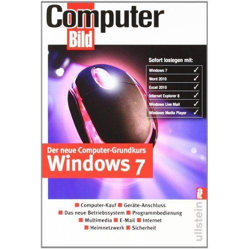 ComputerBild - Der neue Computer-Grundkurs Windows 7 - Preis vom 22.06.2021 04:48:15 h