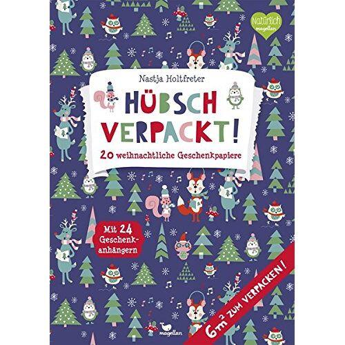 - Hübsch verpackt! 20 weihnachtliche Geschenkpapiere - Preis vom 15.06.2021 04:47:52 h