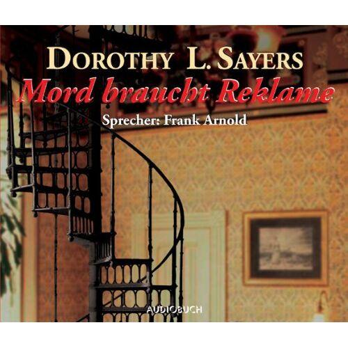 Sayers, Dorothy L. - Mord braucht Reklame. 10 CDs - Preis vom 09.06.2021 04:47:15 h