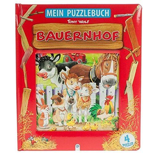 Anna Casalis - Mein Puzzlebuch Bauernhof: Mit vier 12-teiligen Puzzles! - Preis vom 23.09.2021 04:56:55 h