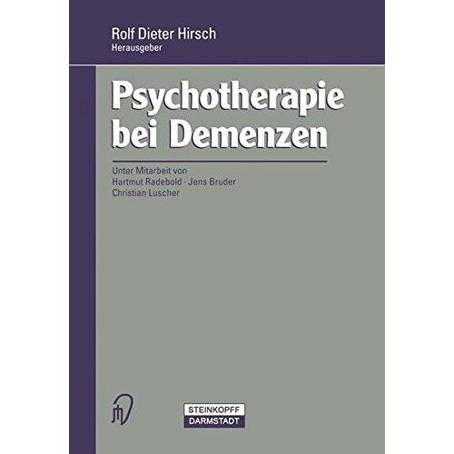 Rolf Hirsch - Psychotherapie bei Demenzen - Preis vom 01.08.2021 04:46:09 h
