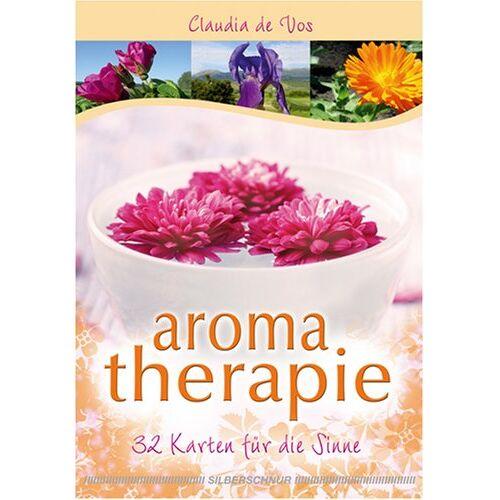 Claudia de Vos - Aromatherapie: 32 Karten (8,8 x 12,3 cm) für die Sinne - Preis vom 23.07.2021 04:48:01 h