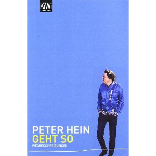 Peter Hein - Geht so: Wegbeschreibungen - Preis vom 13.06.2021 04:45:58 h
