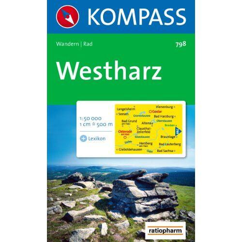 - Westharz: Wandern / Rad. 1:50.000 - Preis vom 26.07.2021 04:48:14 h