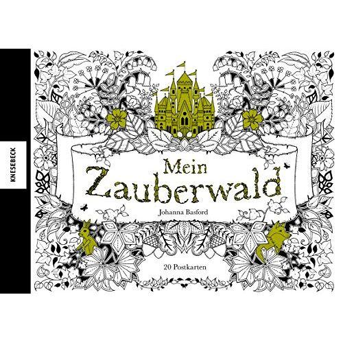 Johanna Basford - Mein Zauberwald: Postkartenbuch mit 20 herausnehmbaren Postkarten - Preis vom 15.10.2021 04:56:39 h