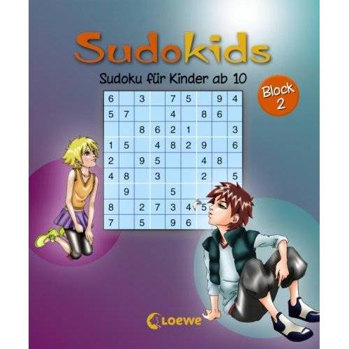 A. Deike - Sudoku für Kinder ab 10. Block 2 - Preis vom 22.07.2021 04:48:11 h
