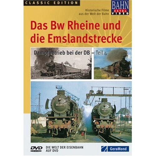 - Das Bw Rheine und die Emslandstrecke - Dampfbetrieb bei der DB - Teil 4 - Preis vom 16.06.2021 04:47:02 h