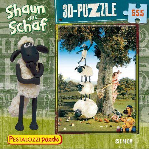 - 3D-Puzzle Shaun das Schaf: 555 Teile (PestalozziPuzzle) - Preis vom 16.06.2021 04:47:02 h