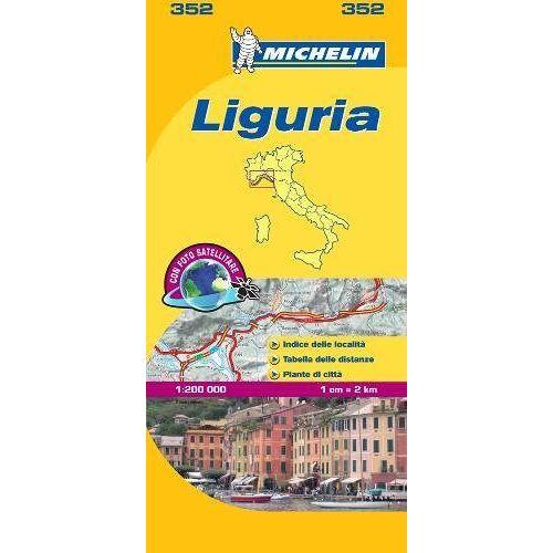 Michelin Liguria - Michelin Local Map 352 (Mapas Local Michelin) - Preis vom 21.06.2021 04:48:19 h