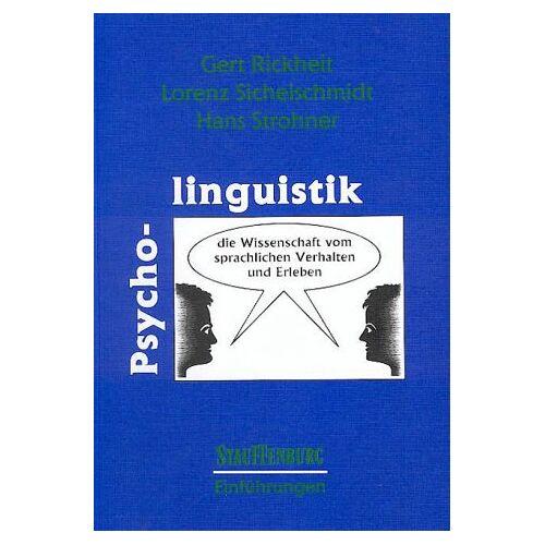 Gert Rickheit - Psycholinguistik - Preis vom 30.07.2021 04:46:10 h