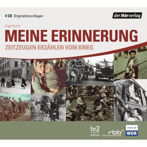 Inge Kurtz - Meine Erinnerung: Zeitzeugen erzählen vom Krieg - Preis vom 17.05.2021 04:44:08 h